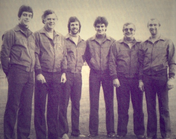 Gary Stevens, Ken Craggs, Mark Lawrenson, John Gregory, Alan Mullery and Brian Horton