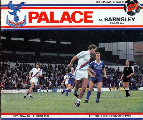 Andy Ritchie in action against Palace in a pre-season friendly.