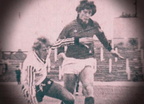 Kinnear in action against Port Vale.