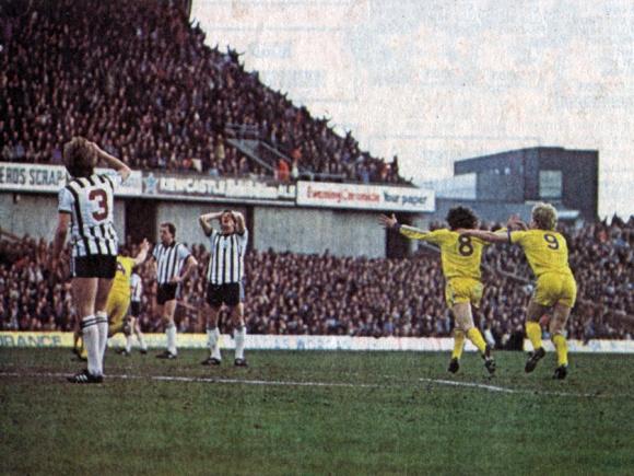 Goal 2: Peter Ward
