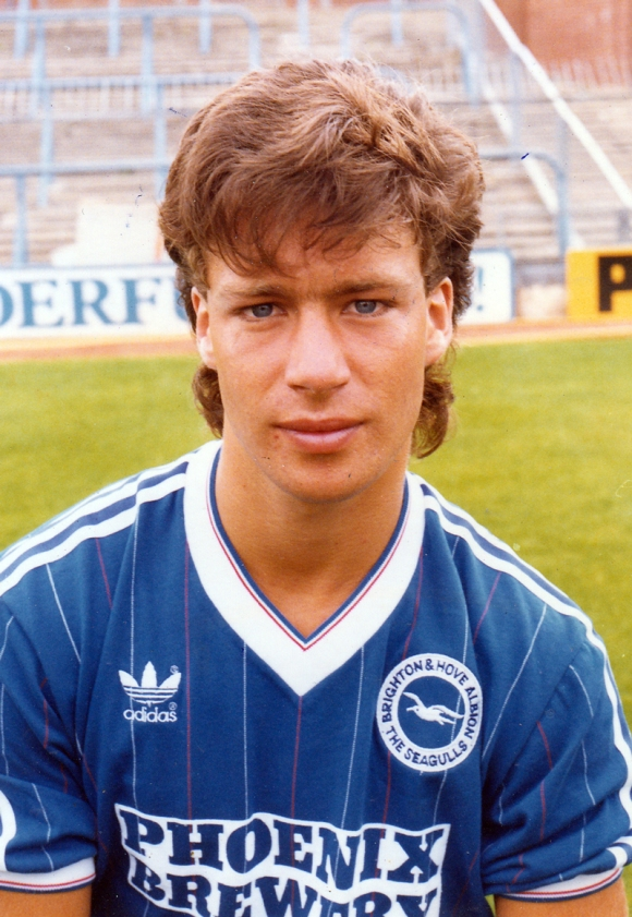 A first ever Albion goal for Steve Penney.