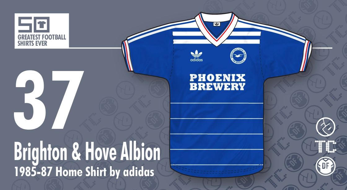 Football Attic  Number 37 in the Greatest Football Shirts Ever 3bcde7548