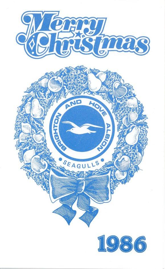 1986 Xmas card